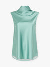 Wild Love Silk Sleeveless Top