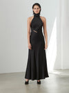 Luxe Silk Casablanca Maxi Dress