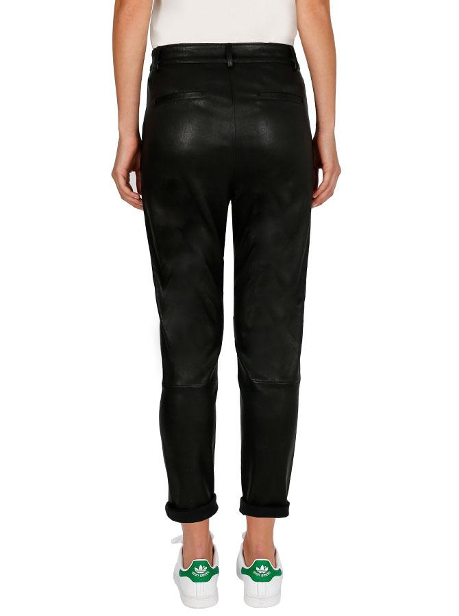 Second Skin Drop Crotch Pant - Black