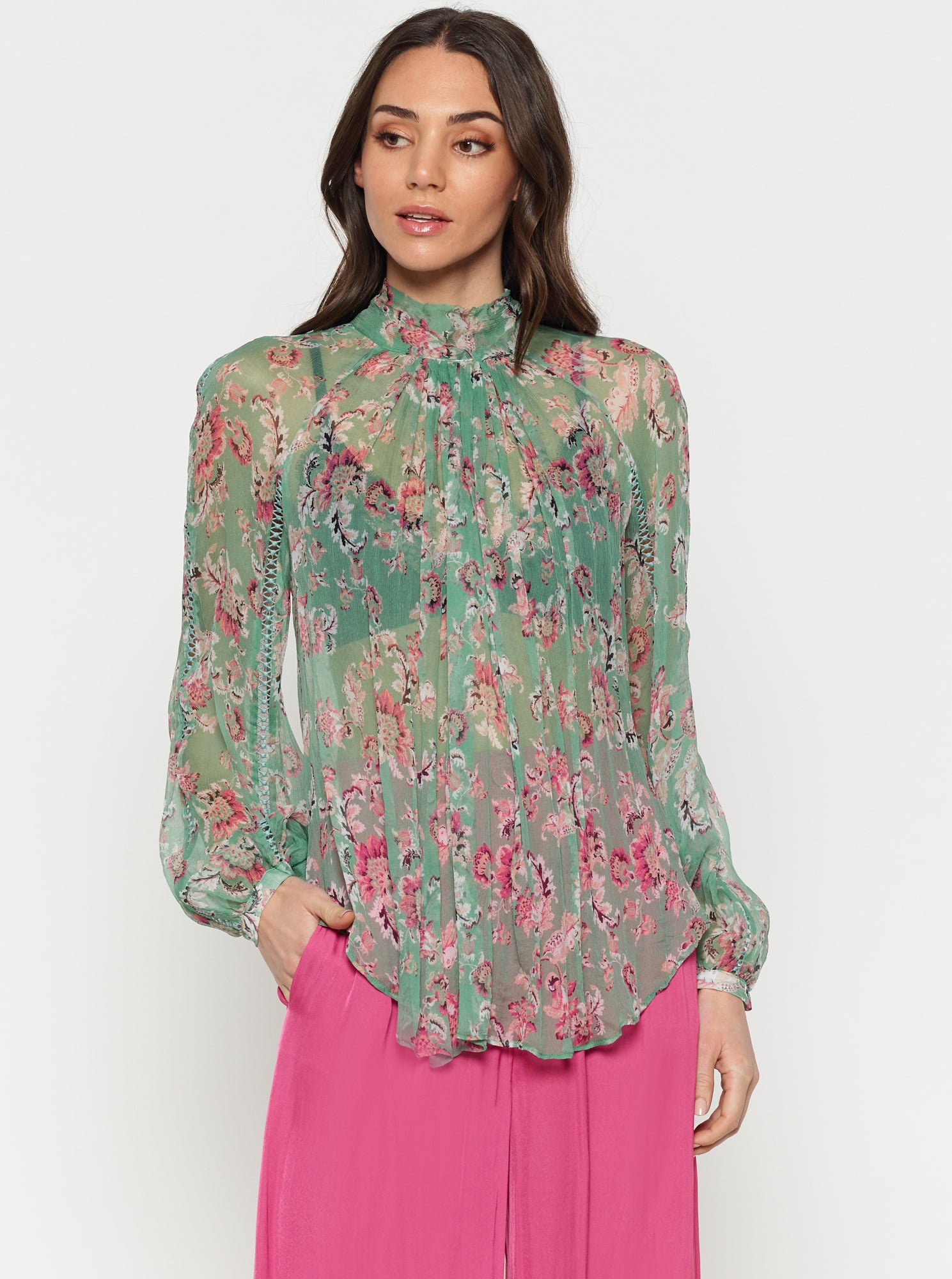 The Real You Silk Blouse