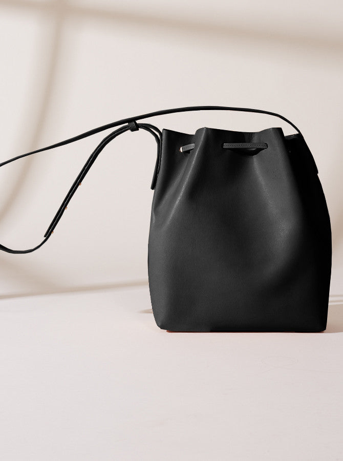 The Temptation Bucket Bag - Black