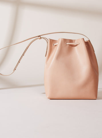 The Temptation Bucket Bag - Caramel