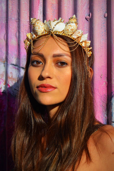 Cosmic MerQueen Mermaid Crown