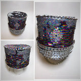 *SALE!* Cosmic Flip Sequin Marcher Hat (More colors and patterns!)