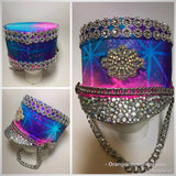 *SALE!* Cosmic Holographic Marcher Hat (More colors and patterns!)