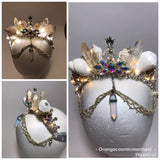 Cosmic Disco *Light Up* MerQueen Mermaid Crown