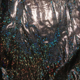 Men's Cosmic Holographic V-Neck Short Sleeve Top (More colors and patterns!)