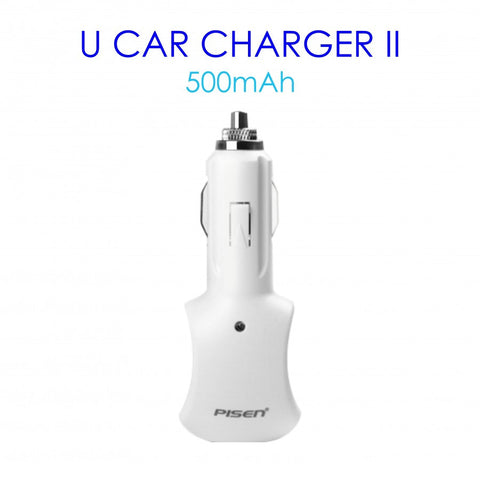 Pisen USB Car Charger 500mAh