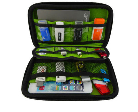 Electronics Cable Organizer Case