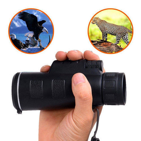 18X62 HQ Single Hand Wide-angle Monocular