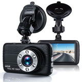 "1080p 3"" Night Vision G-sensor Car  Dash Cam"