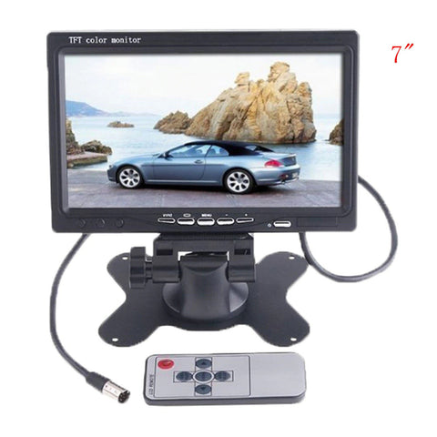"7"" TFT LCD Screen for Reversing Camera"