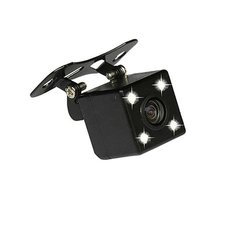 4x LED Square Reversing Camera