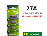 5PCS 27A Alarm Battery