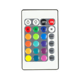 12V RGB Controller w/24-Key Wireless Infrared Remote for LED Strip