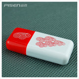 Pisen Micro SD Card Reader (Red Clouds)