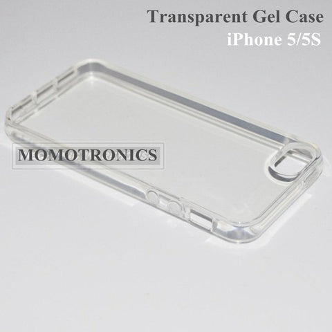 Clear Soft Silicone Gel Transparent iPhone 5/5S