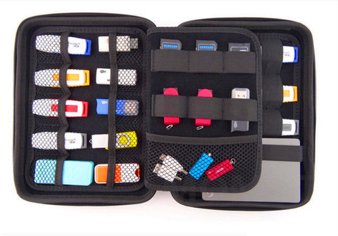 Electronics Cable Organizer Bag