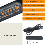 6 LED Auto Truck Warning Lights