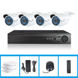 HD IP Security CCTV System NVR KIT 1TB+ 4 x IP Camera + NVR + Cables