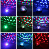 9 Colour 5V Magic Party Disco Ball Light