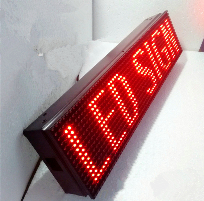 In Car 12V LED RED Message Sign