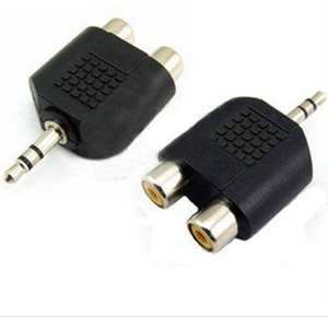 3.5mm Aux  to 2 RCA