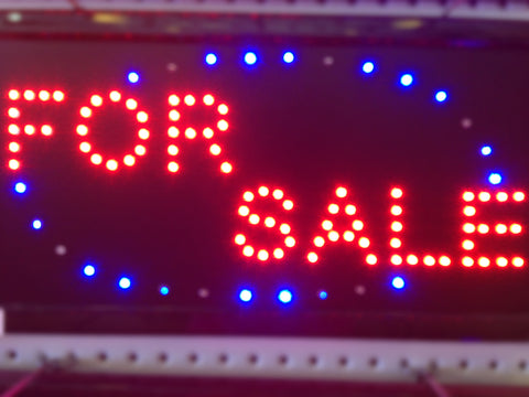 """FOR SALE"" LED Sign"