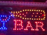 """BAR + CUP"" LED Sign"
