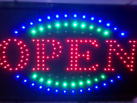"""OPEN"" LED Sign"