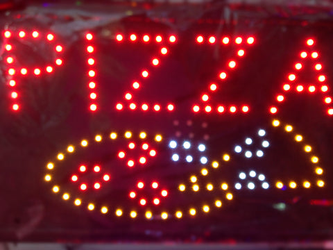 """PIZZA"" LED Sign"