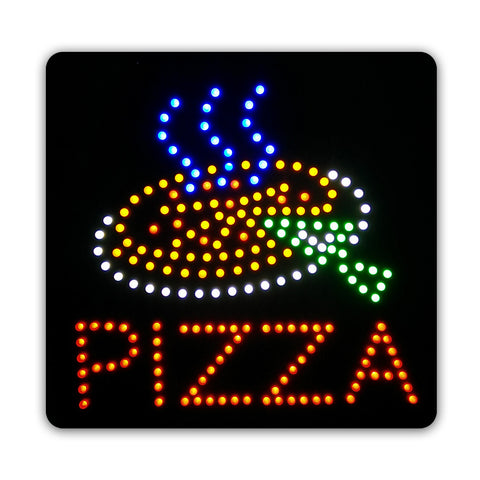 Epoxy Resin PIZZA LED Sign