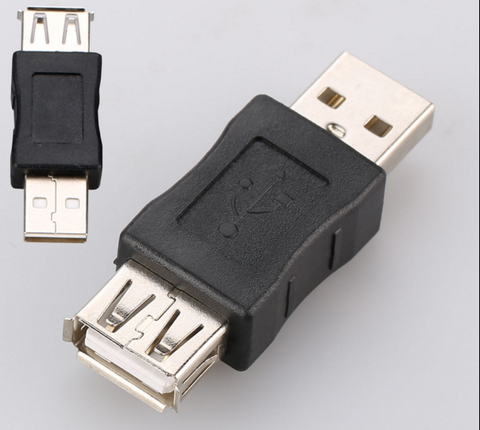 USB  Male to  Female Extension Connector for PC Pros