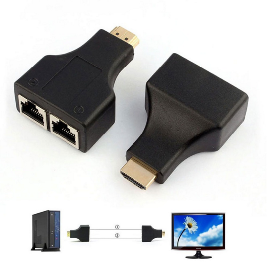 HDMI Over by CAT5e CAT6 Cable Extender