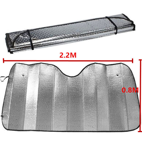 2.2 M X 0.8 M Car Windscreen Sun Shade