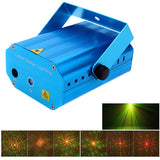 12 in 1 Mini Laser Stage Light