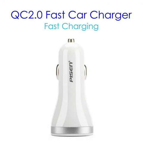 Pisen High Quality QC 2.0 Car Charger