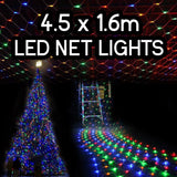 4.5m x 1.6m 320 LED Net Christmas Fairy Lights