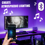 Smartphone RGB Bluetooth Lighting Controller for LED Strips w/24-Key Remote