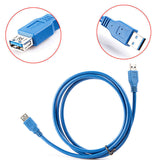 USB 3.0 Extension SuperSpeed Data Cable