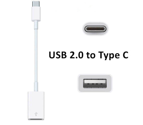 USB 3.1 Type C to USB 2.0 Female OTG Charging Data Cable