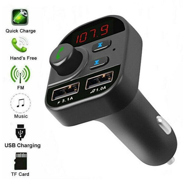Car bluetooth Wireless Radio MP3 Player FM Transmitter