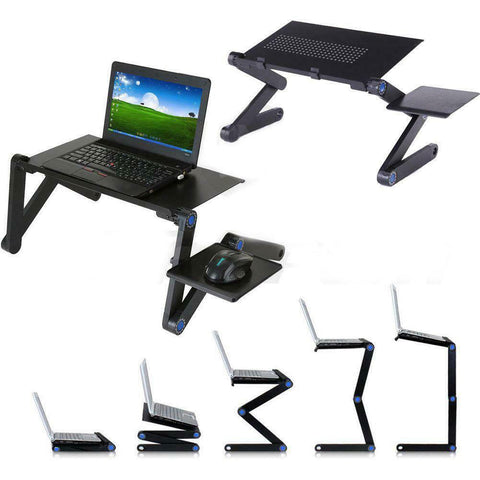 Multi-Functional Extra Large Foldable Laptop Table Stand Portable Sofa Bed Detachable Mousepad