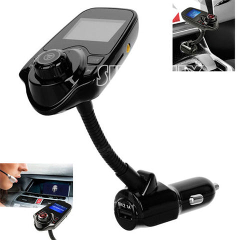 T10 Bluetooth 3.0 Car Kit Wireless FM Transmitter