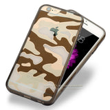 Transparent Soft Camouflage iPhone 5/5S Cases