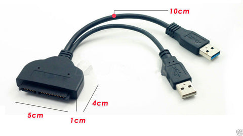 USB 3.0 2.0 To SATA External Converter Adapter Cable