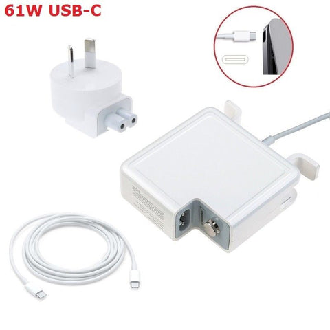 61w USB-C Type Replacement Charger for Apple Macbook A1718