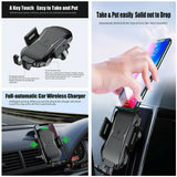 Air vent Wireless Full-automatic Car Charging Fast Charger &Mount Phone Holder