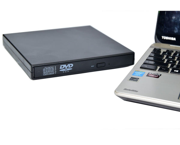USB External DVD CD RW Disc Writer Burner Player Drive