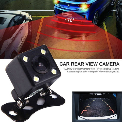 4 LED Reversing Camera w/ Wireless Kit